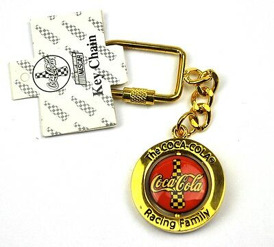 Coca Cola Coke USA Schlüsselanhänger Keychain Key Ring - Racing Family NASCAR