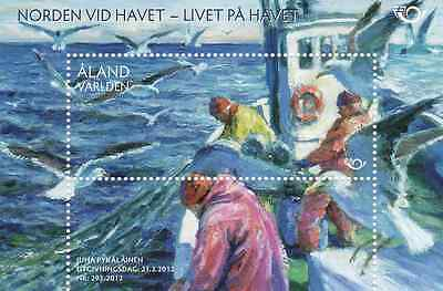 ALAND - 2012 - Miniature Sheet: NORDEN - Living By The Sea (II). Mint NH