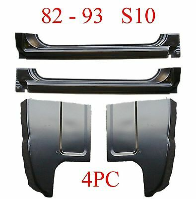 Goes Into Jambs 898-03R 73 87 RIGHT Chevy /& GMC Extended Rocker Panel OEM Type