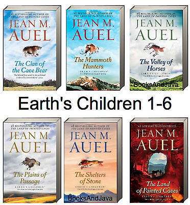 Earths Children Complete 1-6 (tp pb) Clan Cave Bear,Mammoth Hunter by Jean Auel