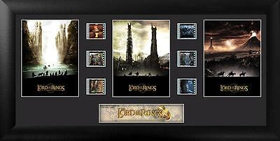 The Lord of the Rings™ (S3) Trilogy 20 X 11 Film Cell Numbered Limited Edition