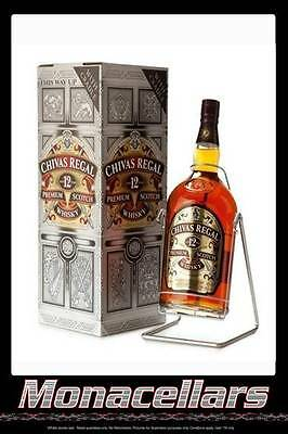 Chivas Regal 4.5L- aged 12 years with cradle