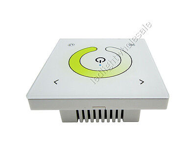 Touch Panel Color Temperature Led Controller Dimmer 2 Channels DC 12-24V TM07