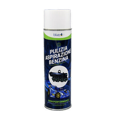 Additivo Spray Pulitore Condotto Aspirazione Benzina Blue 500 Ml - Bb06005