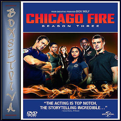 Chicago Fire - Complete Season 3 *brand New Dvd***