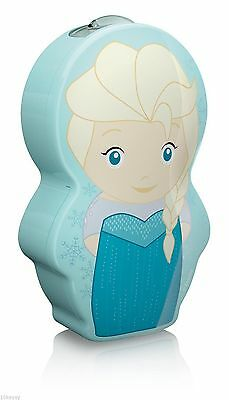Philips Disney Frozen Princess Elsa Children's Pocket Torch and Night Light LED