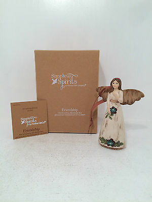 Simple Spirits Angel Figurine - Friendship Figurine Ornament BRAND NEW BOXED