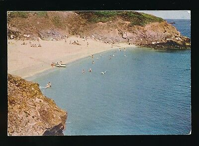 Channel Islands HERM Belvoir Bay 1957 RP PPC mailed from LOCAL bisect Stamp