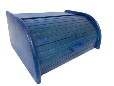 Home, Furniture & Diy Wooden Bread Box Apollo Peewit Roll Top Bin Storage Loaf Kitchen Small Large Cookware, Dining & Bar