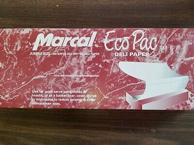 "15"" x 10.75"" MARCAL/CELTIC DRY WAX DELI PAPER/ POP UP SHEET( 500 SHEETS PER BOX)"