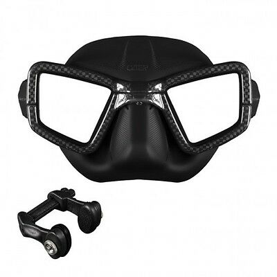 Omer Mask UP-M1C Carbon + Nose Clip By Umberto Pellizzari 02UK
