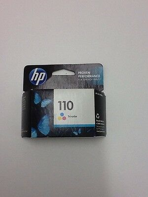 Genuine HP 110 Printer Ink Tri Color Cartridge