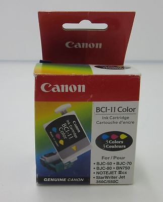 Genuine Canon BCI-11 Color Printer Cartridge