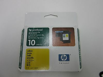 Genuine HP 10 Printhead Yellow Printer Cartridge