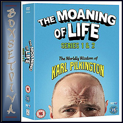 The Moaning Of Life - Complete Series 1 & 2  *brand New Dvd***