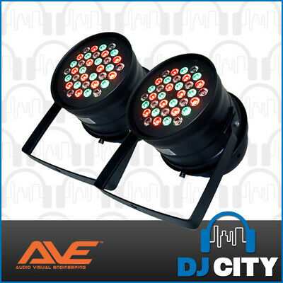 Pk-Tri-5 Ave High Powered 3W Led Parcan 2 Pack