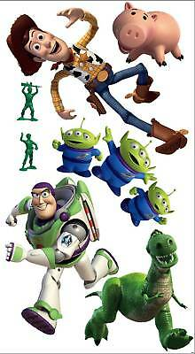 TOY STORY BUZZ LIGHTYEAR LARGE STICKERS WALL DECOR SELF ADHESIVE matches BORDER