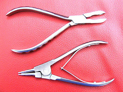 Ring Opening & Closing Pliers - Body Piercing Tools