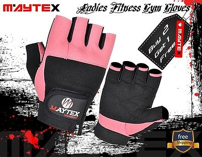 Women's Weight lifting gym fitness gloves BUY1 Pair Get 1 Free