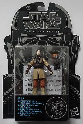 Star Wars Princess Leia Boushh Bsa17 Black Series
