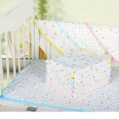 Baby Infant Waterproof Urine Mat & Changing Pad Cover Change Mat Diaper Bed JJ