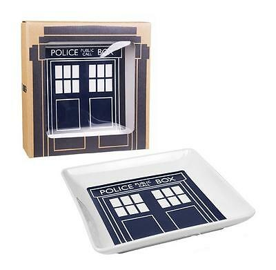 Doctor Who Tardis Square Side Plate