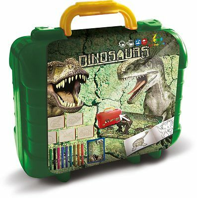 DINOSAURS ART TRAVEL SET Zestaw Podrozny DINOZAURY wiek age 3+ MULTIPRINT *JBook