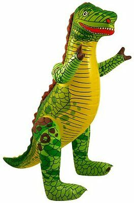 Inflatable Dinosaur 76cm Blow Up Childrens Kids Party Pool Beach Ball Party Toy