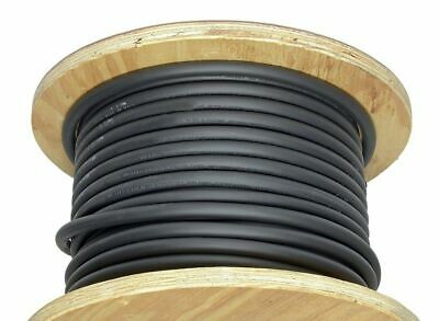 100' 2 Gauge Welding Cable Black Flexible Outdoor Wire Durable New Power USA