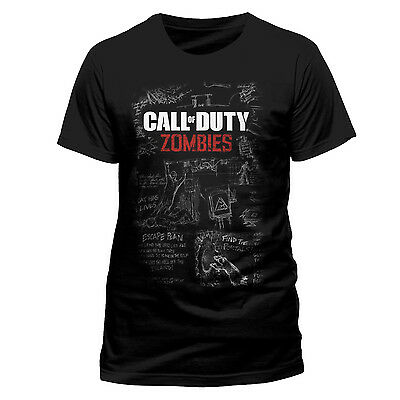 Call of Duty MOB OF THE DEAD ZOMBIES OFFICIAL T-SHIRT Black Unisex - Black Ops3