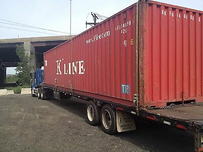 40ft shipping container storage container conex box in Savannah, GA