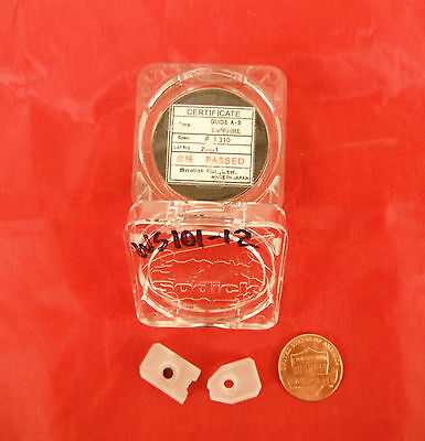 """Sodick Edm Sapphire Upper & Lower Wire Guide Set .012"""" .31Mm 3081934 Ws101-12"""
