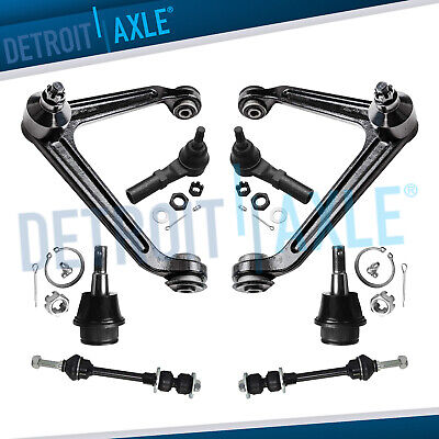 8pc Front Upper Control Arm with Ball Joint for 2002-2005 Dodge Ram 1500 2WD