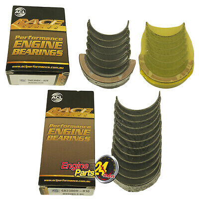 Holden 202 Main & Conrod Bearings Acl Race 7M2398H 6B2380H Choose Std 010 Or 020