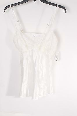 $43 Flora by Flora Women's Nikrooz Willow Cami Top M Medium Ivory NEW