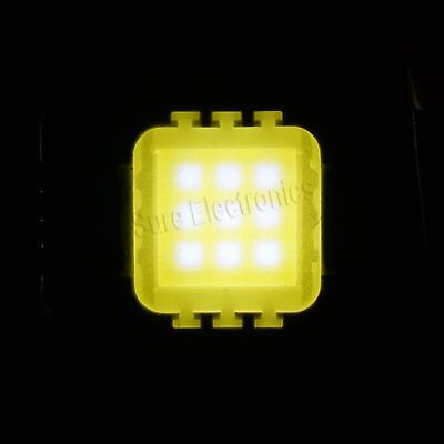 10w Cool white/warm white/red/blue/green high power led Chip 45 mil led light