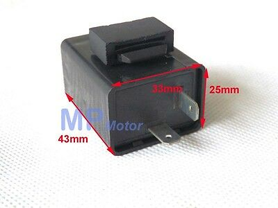 12V Flasher Relay Unit 2 Pin Motorcycle Scooter
