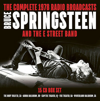 BRUCE SPRINGSTEEN/E STREET BAND - Complete '78 Radio Broadcasts. 15CD BOX *NEW*