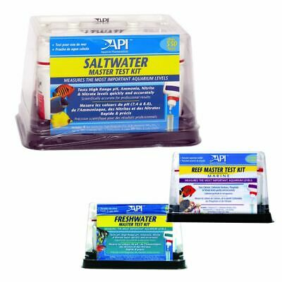 Api Aquarium Master Test Kits Fish Tank Water Testing Calcium Ammonia Nitrate Ph