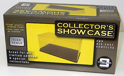 DISPLAY CASE for Diecast Car Model Scale 1:43 - Collector's Showcase