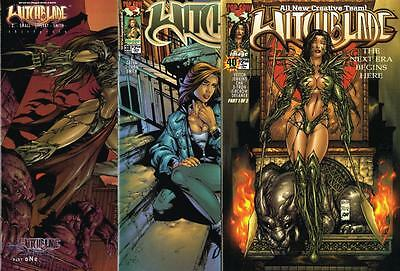 3 issues of Witchblade - Issue # 36, 38, 40 - Image Comics - NM/VF (1106)