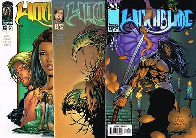 3 issues of Witchblade - Issue # 12, 13, 28 - Image Comics - NM/VF (1117)