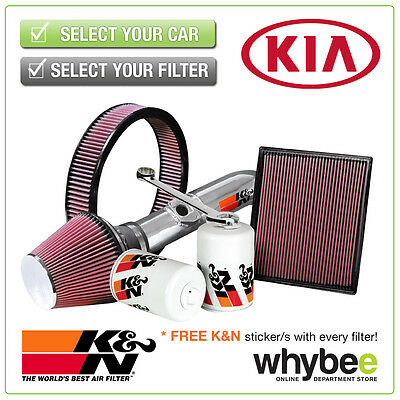 KIA Rio All K&N KN Performance Filters inc Air, Oil & Intake Kits - Full Range!