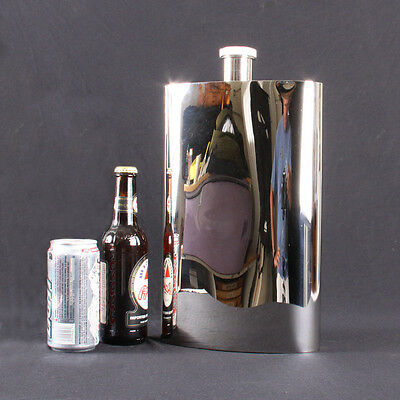 One Gallon Flask, Shiny Stainless Steel Flask, Large Flask ***On Clearance***