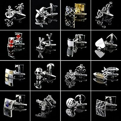 High Quality Mens Vintage Wedding Stainless Shirt Cufflinks Gift Jewelry Cuff