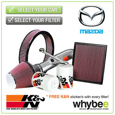 MAZDA 6 All K&N KN Performance Filters inc Air, Oil & Intake Kits - Full Range!