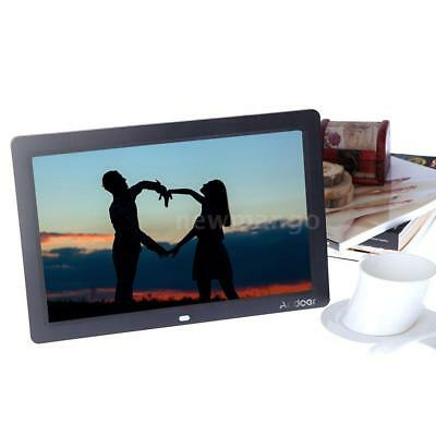 "12"" HD TFT-LCD Digital Photo Picture Frame Clock MP4 Movie Player+Remote Control"