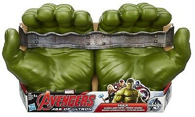 Marvel Incredible Hulk Smash Hands Gloves Set Toy 2pcs New