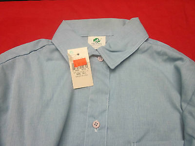 Brownie Girl Scouts  Long Sleeve Shirt ( Size 14 1/2 )