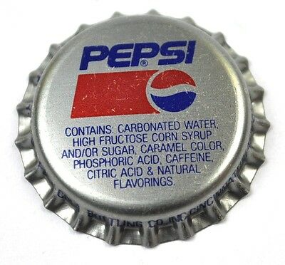 Pepsi Cola Kronkorken USA Soda Bottle Cap Cincinnati